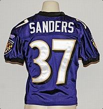 wholesale dealer 5375f efe09 Lot Detail - 2004 Deion Sanders Baltimore Ravens Game-Used ...