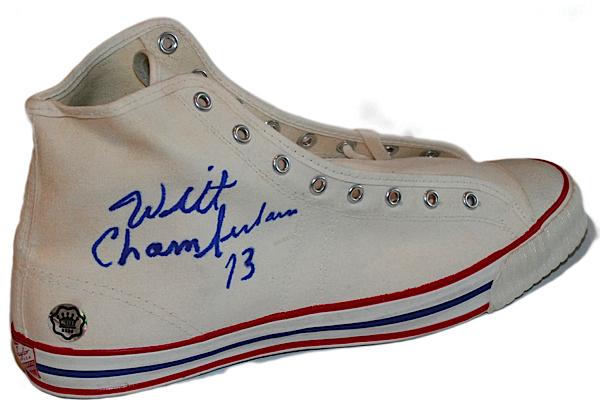 1950s Wilt Chamberlain Autographed