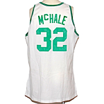 1991-1992 Kevin McHale Boston Celtics Game-Used Home Jersey