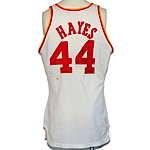 Early 1980s Elvin Hayes Houston Rockets Game-Used Home Jersey (Scarce)