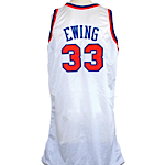 1994-1995 Patrick Ewing NY Knicks Game-Used Home Jersey
