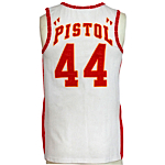 1973-1974 Pistol Pete Maravich Atlanta Hawks Game-Used Home Jersey (Photo Match)