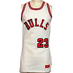 1984-1985 Michael Jordan Rookie Chicago Bulls Game-Used Home Jersey (Team LOA)