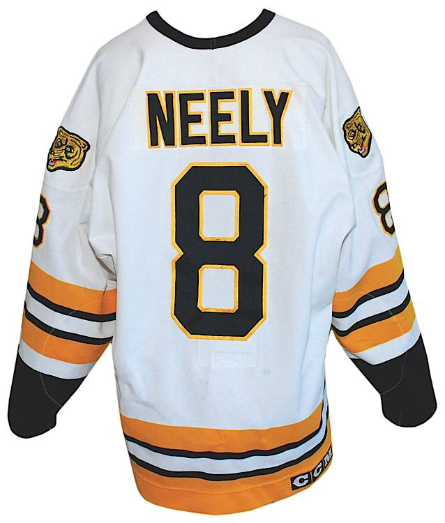 factory price f47cf f96dc Lot Detail - 9/26/1995 Cam Neely Boston Bruins Game-Used ...