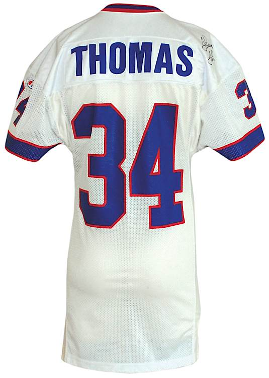 Autographed Buffalo - amp; Detail Jersey Thurman Game-used Thomas Lot Bills Road 1993 jsa ffebeaf|Cleveland To Vanish In San Francisco Fog On Monday