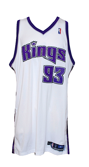 3f496eb8a Lot Detail - 2005-2006 Ron Artest Sacramento Kings Game-Used Home Jersey