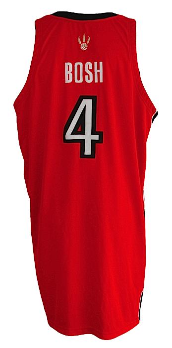 new product 56361 b82a2 Lot Detail - 2006-2007 Chris Bosh Toronto Raptors Game-Used ...