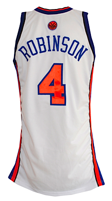 competitive price 8d679 1c659 Lot Detail - 2006-2007 Nate Robinson New York Knicks Game ...