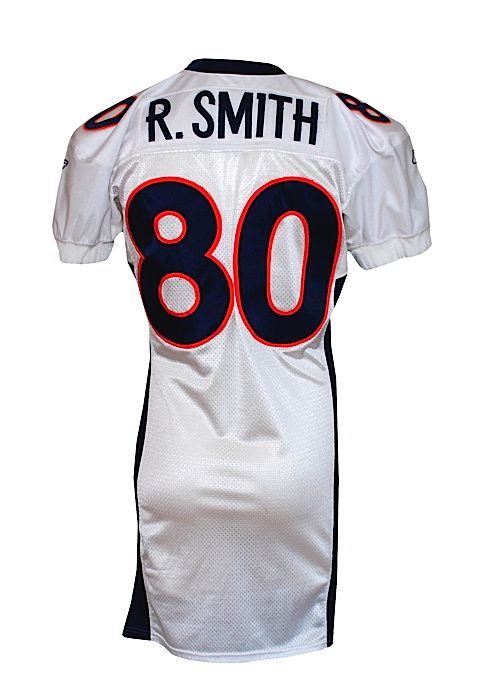 Lot Detail - 2001 Rod Smith Denver Broncos Game-Used Road Jersey
