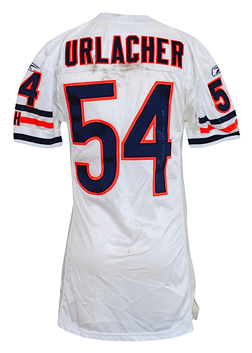 best service 0c11e 3319a Lot Detail - 2004 Brian Urlacher Chicago Bears Game-Used ...