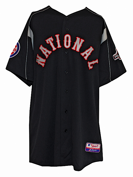 19cf17725d1 Lot Detail - 2003 Mark Prior Chicago Cubs All-Star Game Worn Batting ...