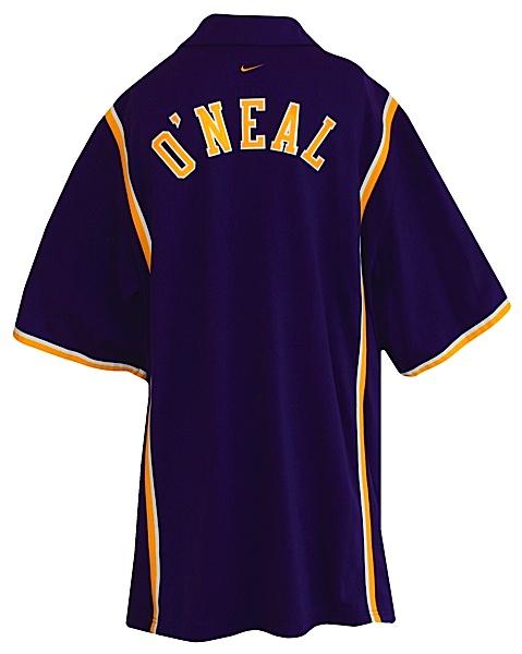Lot Detail - 1998-1999 Shaquille O Neal Los Angeles Lakers Worn Road ... 8adb2b49f