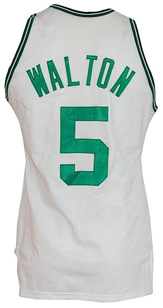 best loved 4ed84 6145a Lot Detail - 1985-1986 Bill Walton Boston Celtics Game-Used ...