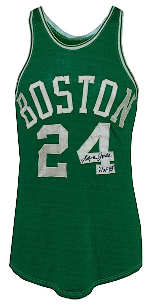new concept bc96c a6319 Lot Detail - Early 1960s Sam Jones Boston Celtics Game-Used ...