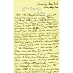 Hoard of James Naismith Letters from the Family Archives (37) (JSA)
