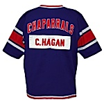 Late 1960s Cliff Hagan Dallas Chaparrals ABA Worn Warm-Up Jacket & Pants (2)