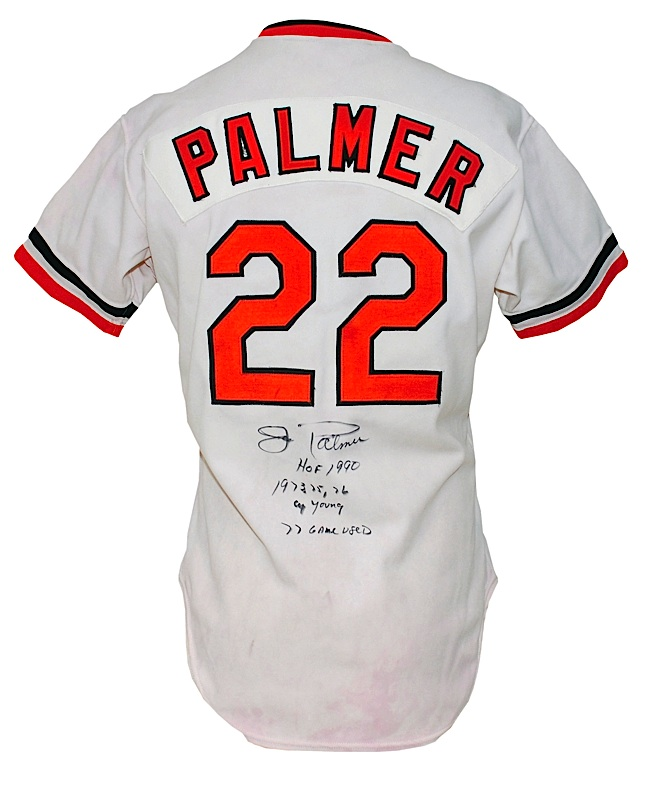 adc216051 Lot Detail - 1977 Jim Palmer Baltimore Orioles Game-Used ...
