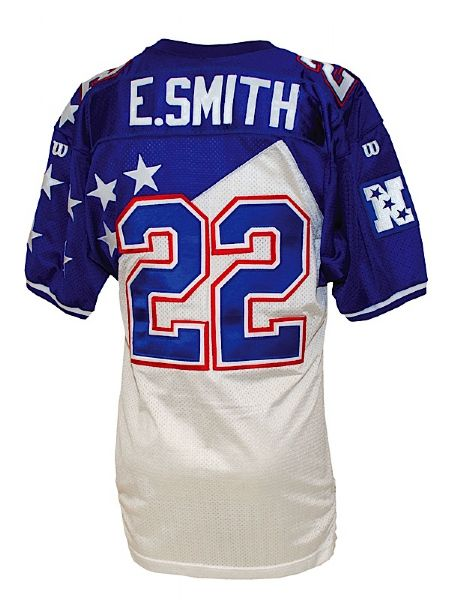 1995 Emmitt Smith Pro Bowl Game-Issued Jersey