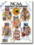 Fifty Years of The Final Four Program Autographed by Many (JSA)