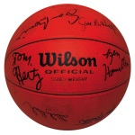 University of Kentucky Early 1980s SEC Championship Teams Autographed Basketball (JSA)