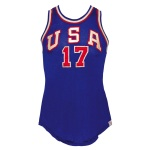 1952 Bill Hougland USA Olympic Game-Used Jersey (Estate LOA)