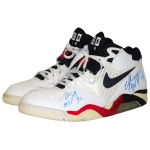 "1992 Charles Barkley USA Olympic ""Dream Team"" Game-Used & Autographed Sneakers (JSA)"