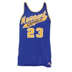 Mid-1960s Dave Cowens Newport Catholic High School Game-Used Jersey