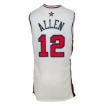 2000 Ray Allen USA Olympic Game-Used Home Jersey