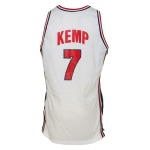 1994 Shawn Kemp USA Tournament of Americas Game-Used Home Jersey