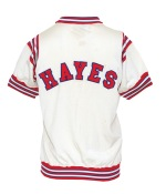 Circa 1967-1968 Elvin Hayes Houston Cougars Home Worn Shooting Shirt