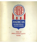 Full Set of 1968-69 ABA Press, Radio & TV Guides (11) (Rare)