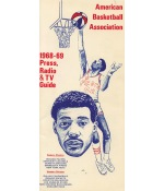 1968-69 ABA Press Guide (Mint)