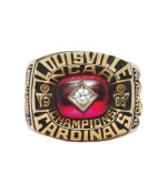 1986 Billy Thompson Louisville Cardinals NCAA Championship Ring