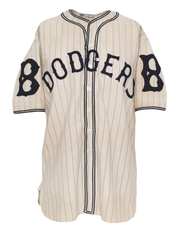 new styles eba17 d631c Lot Detail - 1933 Ownie Carroll Brooklyn Dodgers Game-Used ...