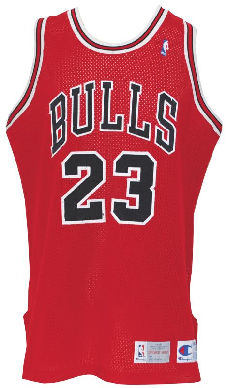 competitive price b2463 c3d96 Lot Detail - 1992-1993 Michael Jordan Chicago Bulls Game ...