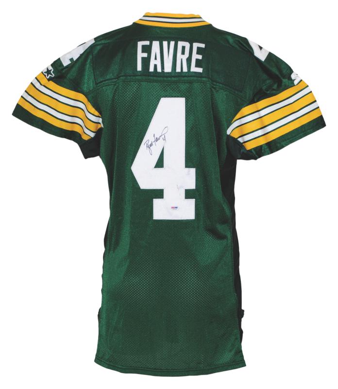 new styles ed90f 3835c Lot Detail - 1996 Brett Favre Green Bay Packers Game-Used ...