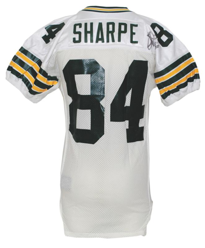 half off 4c8aa 81181 Lot Detail - 1994 Brett Favre Green Bay Packers Un-Worn Home ...
