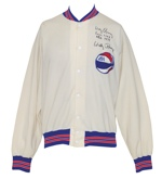 1974 Wally Rooney ABA Referees Worn & Autographed Warm-Up Jacket (JSA)