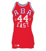 1975 Dan Issel ABA Eastern Conference All-Stars Game-Used Uniform (2) (Issel LOA) (Rare and Desirable)