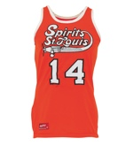 1975-76 Freddie Lewis Spirits of St. Louis ABA Game-Used Road Jersey (Trainer LOA) (Rare)