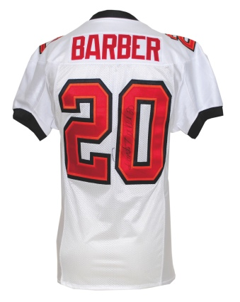 new style 6df27 7df24 Lot Detail - 10/17/2010 Ronde Barber Tampa Bay Buccaneers ...