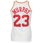 1982-83 Calvin Murphy Houston Rockets Game-Used Home Jersey (Final Season) (Murphy LOA)