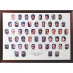Robert Parishs NBA Top 50 Lithograph (Parish LOA) (JSA)