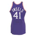 1975 Wes Unseld NBA All-Star Game-Used & Autographed Uniform (2) (Unseld LOA) (JSA)