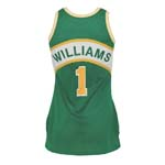 Circa 1980 Gus Williams Seattle SuperSonics Game-Used Road Jersey
