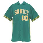 Circa 1978 Joe Hassett Seattle SuperSonics Worn Road Warm-Up Jacket