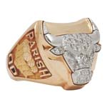 1997 Robert Parish Chicago Bulls Championship Ring (Parish LOA)
