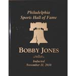 11/11/2010 Bobby Jones Philadelphia Sports Hall of Fame Induction Plaque (Jones Collection) (Jones LOA)