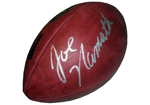 low priced f9a71 08e3a Lot Detail - Joe Namath Autographed NFL Duke Football