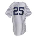 6/30/2011 Mark Teixeira NY Yankees Game-Used Home Jersey Worn to Hit 300th Career HR (Yankees-Steiner LOA) (MLB) (Photomatch)